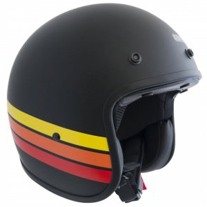 Jet Helm für Scooter CGM Strike 170G Matt Black