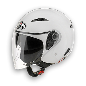 Helm Jet Airoh City One weiß