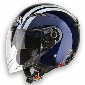 Helm Jet Airoh City One dunkelblau