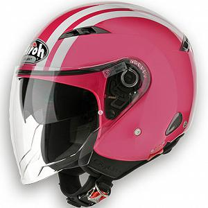 Helm Jet Airoh City One rosa