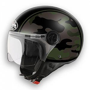 Helm Jet Airoh Compact Military