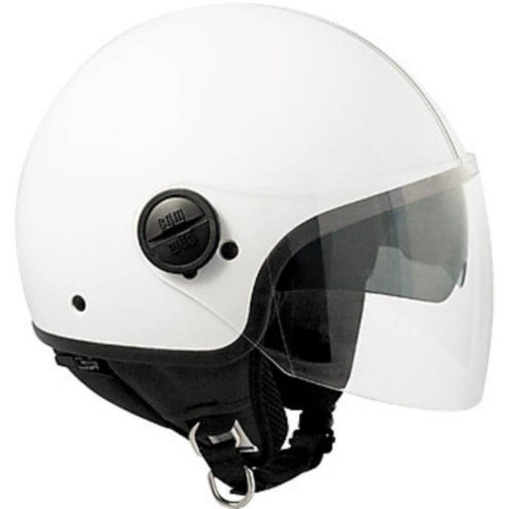 Helm Jet Airoh Compact Silver